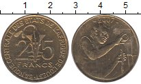 Изображение Монеты Центральная Африка Центральная Африка 2007 Латунь XF
