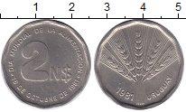 Изображение Монеты Уругвай Уругвай 1981 Медно-никель UNC