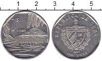 Изображение Монеты Куба 1 песо 2007 Медно-никель XF