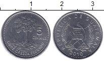 Изображение Монеты Гватемала Гватемала 2010 Медно-никель UNC