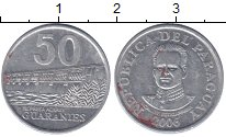 Изображение Монеты Парагвай 50 гарани 2006 Алюминий XF