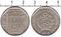 Изображение Монеты Перу 1 соль 2015 Медно-никель UNC- Богатство и гордость