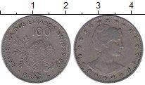Изображение Монеты Бразилия 100 рейс 1901 Медно-никель XF