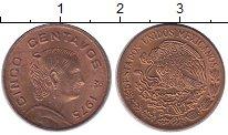 Изображение Монеты Мексика 5 сентаво 1975 Медь XF