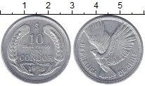 Изображение Мелочь Чили 10 песо 1958 Алюминий XF