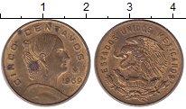 Изображение Монеты Мексика 5 сентаво 1969 Медь XF