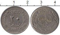 Изображение Монеты Турция 20 пар 1910 Никель XF