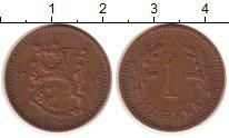 Изображение Монеты Финляндия 1 марка 1941 Бронза XF