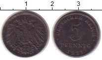 Изображение Монеты Германия 5 пфеннигов 1921 Железо XF