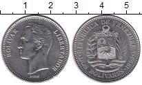 Изображение Монеты Венесуэла 2 боливара 1990 Медно-никель XF Симон Боливар