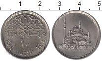 Изображение Монеты Египет 10 пиастров 1984 Медно-никель UNC-