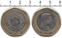 Изображение Монеты Иордания 1/4 динара 2008 Биметалл XF