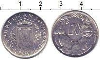Изображение Монеты Сан-Марино 10 лир 1981 Алюминий UNC-