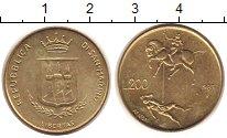 Изображение Монеты Сан-Марино 200 лир 1983 Латунь UNC-