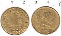 Изображение Монеты Сан-Марино 200 лир 1996 Латунь UNC-