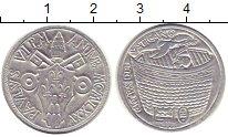 Изображение Монеты Ватикан 10 лир 1975 Алюминий UNC-