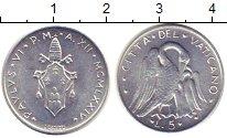 Изображение Монеты Ватикан 5 лир 1974 Алюминий UNC-