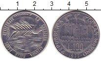 Изображение Монеты Сан-Марино 100 лир 1977 Сталь UNC-