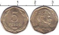 Изображение Монеты Чили 5 песо 1998 Латунь XF