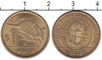 Изображение Монеты Уругвай Уругвай 2012 Латунь XF