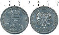 Изображение Монеты Польша 100 злотых 1986 Медно-никель XF Владислав I
