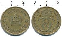 Изображение Монеты Дания 1 крона 1925 Медь VF