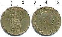 Изображение Монеты Дания 1 крона 1956 Медь XF