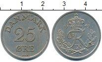 Изображение Монеты Дания 25 эре 1949 Медно-никель XF