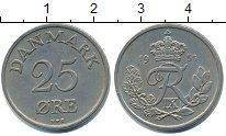 Изображение Монеты Дания 25 эре 1955 Медно-никель XF