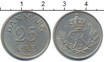 Изображение Монеты Дания 25 эре 1956 Медно-никель XF