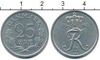 Изображение Монеты Дания 25 эре 1961 Медно-никель XF