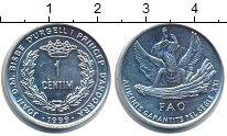 Изображение Монеты Андорра 1 сентим 1999 Алюминий XF