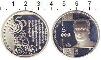 Изображение Монеты Бельгия 5 экю 1998 Серебро Proof-