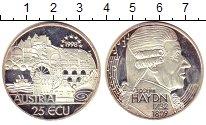 Изображение Монеты Австрия 25 экю 1998 Серебро Proof-
