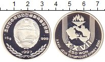 Изображение Монеты  250 вон 1997 Серебро Proof-