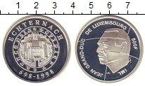 Изображение Монеты Люксембург 500 франков 1998 Серебро Proof 1300 - летие  Люксем