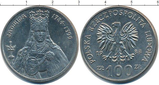 Картинка Монеты Польша 1.000 злотых Медно-никель 1988