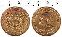 Изображение Монеты Кения 10 центов 1978 Латунь XF
