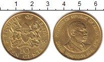 Изображение Монеты Кения 10 центов 1990 Латунь XF