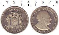 Изображение Монеты Ямайка 1 доллар 1977 Медно-никель UNC