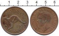 Изображение Монеты Австралия 1 пенни 1952 Медь XF