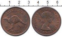 Изображение Монеты Австралия 1 пенни 1964 Медь XF