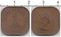 Изображение Монеты Малайя 1 цент 1961 Медь VF