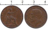 Изображение Монеты Великобритания 1 фартинг 1922 Медь XF Георг V.