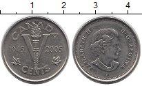 Изображение Монеты Канада 5 центов 2005 Медно-никель XF