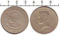 Изображение Монеты Филиппины 1 песо 1974 Медно-никель VF