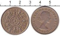 Изображение Монеты Великобритания 2 шиллинга 1958 Медно-никель