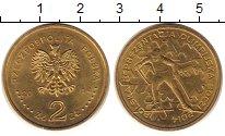 Изображение Монеты Польша 2 злотых 2014 Латунь XF