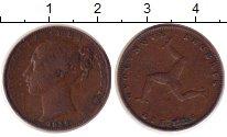 Изображение Монеты Великобритания Остров Мэн 1 фартинг 1839 Медь XF