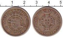 Изображение Монеты Мозамбик 5 эскудо 1971 Медно-никель VF Колония Португалии.